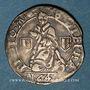 Coins Lorraine. Cité de Metz. Demi-gros au Saint-Etienne agenouillé. 1647. Metz