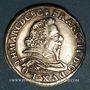 Coins Lorraine. Comté de Salm. François II (1625-1632). Teston 1627. Badonvilliers