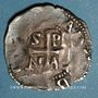 Coins Lorraine. Evêché de Metz. Adalbéron III de Luxembourg (1047-1072). Denier. Epinal
