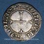 Coins Lorraine. Evêché de Metz. Conrad Bayer de Boppart (1415-1459). Demi-gros. Marsal