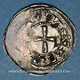 Coins Lorraine. Evêché de Metz. Etienne de Bar (1120-1162). Denier. Inédit !