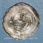 Coins Lorraine. Evêché de Metz. Etienne de Bar (1120-1162). Denier. Marsal