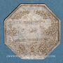 Coins Mouterhouse. Société des Etablissements de Mouterhouse. Jeton argent, entre 1832-1834