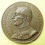 Coins Affaire Dreyfus. Le général Mercier. 1906. Médaille en bronze. 50 mm. Gravée par J. Baffier