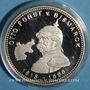 Coins Allemagne. Bismarck (1815-1898). Médaille argent 999 ‰. 40 mm.