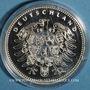 Coins Allemagne. Friedrich Ebert (1871-1925). Médaille argent 999 ‰. 40 mm.