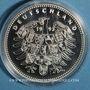 Coins Allemagne. Goethe (1749-1832). Médaille argent 999 ‰. 40 mm.