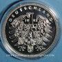 Coins Allemagne. Handel (1685-1759). Argent 999 ‰. 40 mm.