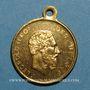 Coins Belgique. Inauguration de la nouvelle station de chemin de fer - Visite du Roi et de la Reine 1879