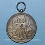 Coins Chalon-sur-Saône. Société des Jouteurs de Sainte-Marie. Médaille argent