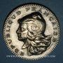 Coins Chambre des députés. Médaille d'Identité. 1981. Argent. Gravée par J. Mauviel