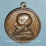 Coins Commémoration de l'oeuvre de Pie V (1566-1572). Médaille cuivre