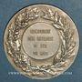 Coins Compagnie des Chemins de fer du Midi. Médaille en argent. 36 mm. Gravée par Chabaud