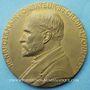 Coins Crédit Lyonnais. 25 ans de services (1910). Médaille en bronze. 80,5 mm. Gravée par Ch. Pillet