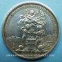 Coins Espagne-Portugal. Commémoration de mariages. 1785. Médaille en argent. 43,3 mm