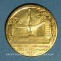 Coins Exposition internationale Arts & Techniques Paris. L'orfèvrerie 1937. Médaille en bronze. 32,08 mm