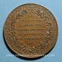 Coins Franklin / Montyon. 1833. Médaille bronze