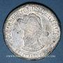 Coins Georges Ernest Jean-Marie Boulanger (1837-1891). 1887. Médaille populaire en carton