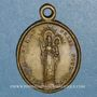 Coins Gray (Franche-Comté). Notre dame de Gray. 1823. Médaille bronze
