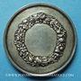 Coins Haute Saône. Jussey. Comice agricole. Médaille en argent. 42 mm. Poinçon : abeille
