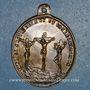 Coins Jérusalem. Confirmation du statut de l'Eglise du Saint Sépulcre. 1852. Médaille bronze