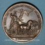 Coins Louis XIV. Campagne d'Allemagne. Médaille en bronze 1678
