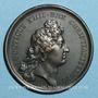 Coins Louis XIV. Prise de Dôle. Médaille en bronze 1668