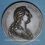 Coins Louis XVI et Marie-Antoinette. 1781. Médaille. Refrappe