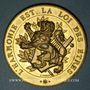 Coins Lyon. Concours musical International. 1894. Médaille bronze doré