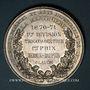 Coins Lyon. Ecole de La Martinière. 1870-1871. 1ère Division - 1er prix. Médaille argent