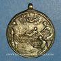 Coins Martyre de Saint Laurent (18e). Médaille bronze