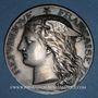 Coins Ministère du Commerce. Commission permanente des valeurs de douanes. 1890. Médaille argent