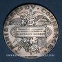 Coins Ministère du Commerce. Commission permanente des valeurs de douanes. 1894. Médaille argent
