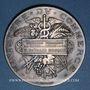 Coins Ministère du Commerce. Commission permanente des valeurs de douanes. 1896. Médaille argent