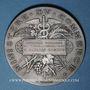 Coins Ministère du Commerce. Commission permanente des valeurs de douanes. 1897. Médaille argent