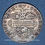 Coins Ministère du Commerce. Commission permanente des valeurs de douanes. 1899. Médaille argent