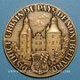 Coins Montbéliard. Trentenaire du Groupe Numismatique de Franche-Comté. 1993. Médaille bronze
