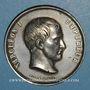 Coins Mort de l'Empereur Napoléon 1er. 1821. Médaille en étain