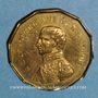 Coins Mort du général Bertrand. 1844. Médaille cuivre jaune