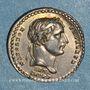 Coins Napoléon I. Couronnement de l'Empereur. 1804. Médaille argent