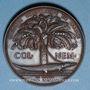 Coins Nîmes. Congrès scientifique de France. 1844. Médaille bronze. Gravée par Marius Penin