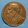 Coins Paris. 20e anniversaire du magasin Au Printemps, boulevard Haussmann. 1884. Médaille bronze