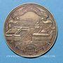 Coins Paris. Compagnie fermière d' l'Etablissement thermal de Vichy. Médaille en bronze. 33,8 mm
