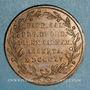 Coins Pays-Bas. Guillaume I (1815-1840). Couronnement, 1815. Médaille cuivre. 23 mm.