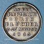 Coins Prusse. Bataille de la Katzbach. 1813. Médaille argent