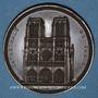 Coins Restauration de Notre-Dame de Paris. 1842. Médaille cuivre. 57,7 mm
