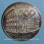 Coins Rome, 1960. Jeux Olympiques. Médaille argent 1000 ‰. 40 mm.
