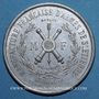 Coins Saint-Etienne. Manufacture d'armes. 10 000e fusil Idéal. Médaille alu. 37,8 mm gravée par Cartaux