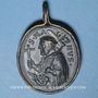 Coins Saint-Gall (vers 550 † 16.10.646) et St Magne de Füssen (vers 699 † 772). Médaille (17e)
