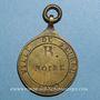 Coins Seurre (Côte d'Or, Bourgogne). Plaque de métier. 1832. Bronze